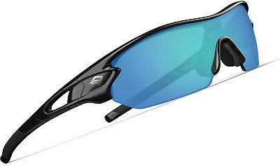 TOREGE Polarized Sports Sunglasses with 5 Interchangeable Le