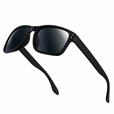 Polarized Sunglasses for Women Driving Fishing Unisex Vintage Rectangular