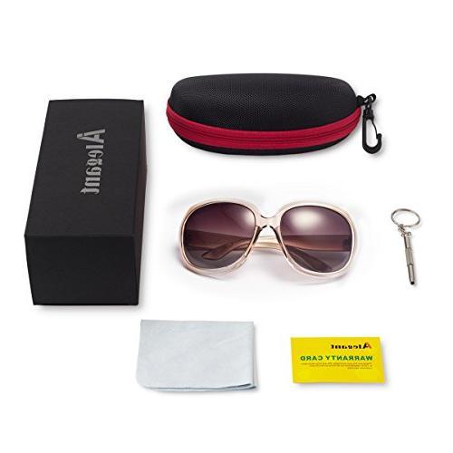 Polarized AkoaDa Lens Sunglasses for Female Fashionwear Polarized Sun Eye