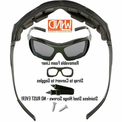 WYND Wind & Motorcycle Riding Glasses