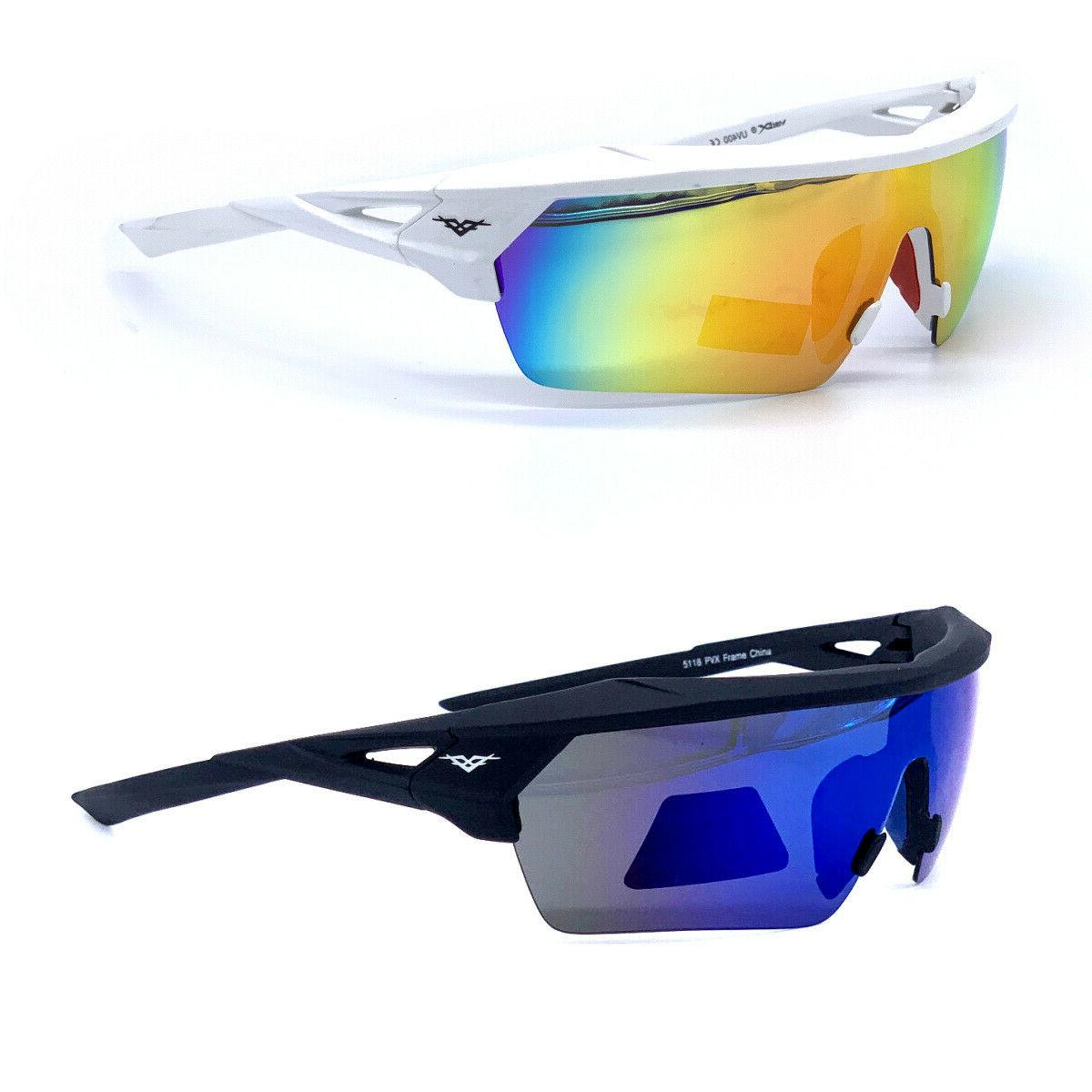 premium sport polarized sunglasses new wrap around