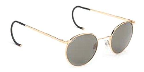 randolph p3 sunglasses gold 23k cable glass