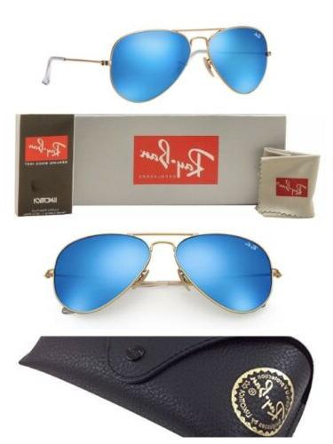 4ae80aa505f Ray-Ban Aviator Sunglasses RB3025 Blue Mirror G-15 Lens 58mm