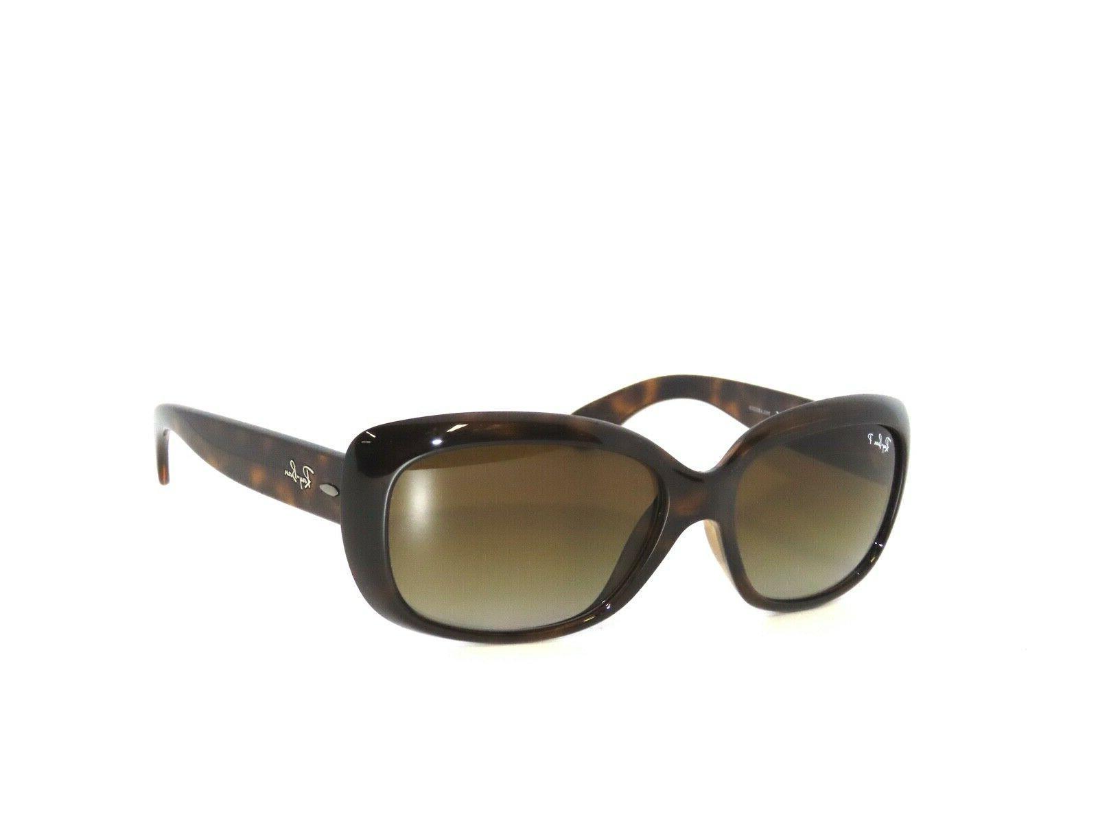 Ray-Ban Jackie Ohh RB 4101 710/T5 Light Havana Sunglasses Br