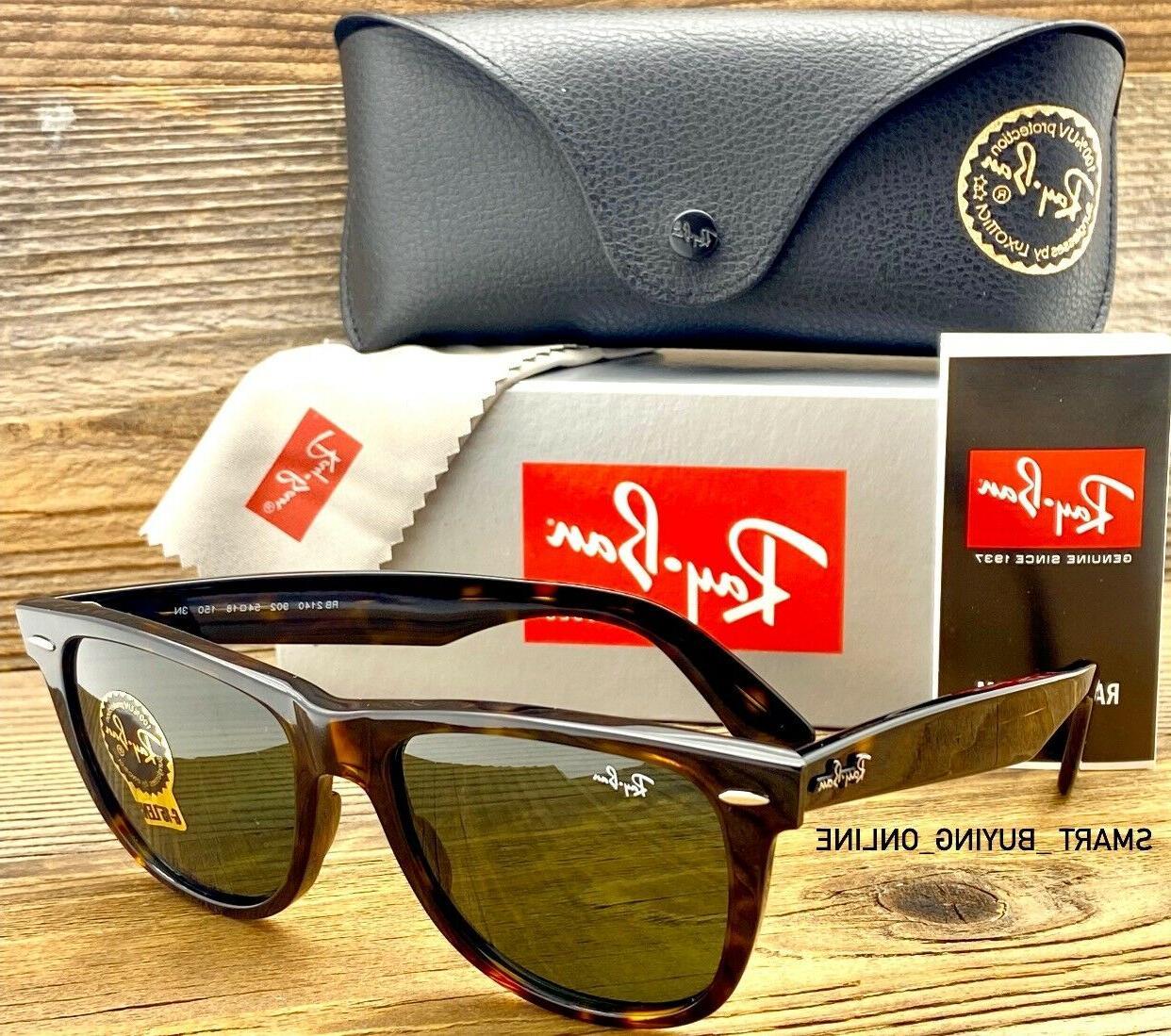 Ray Ban Original Wayfarer Tortoise Non Polarized Sunglasses