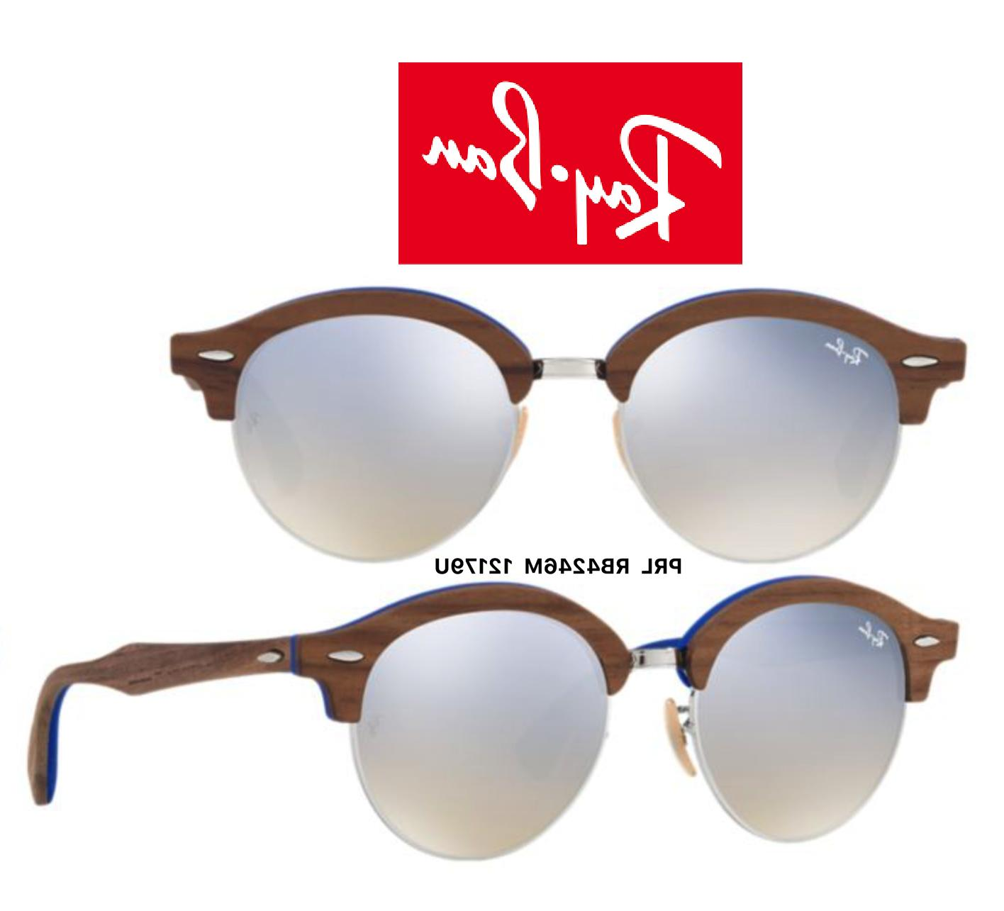 Ray-Ban RB Wood Sunglasses Authentic