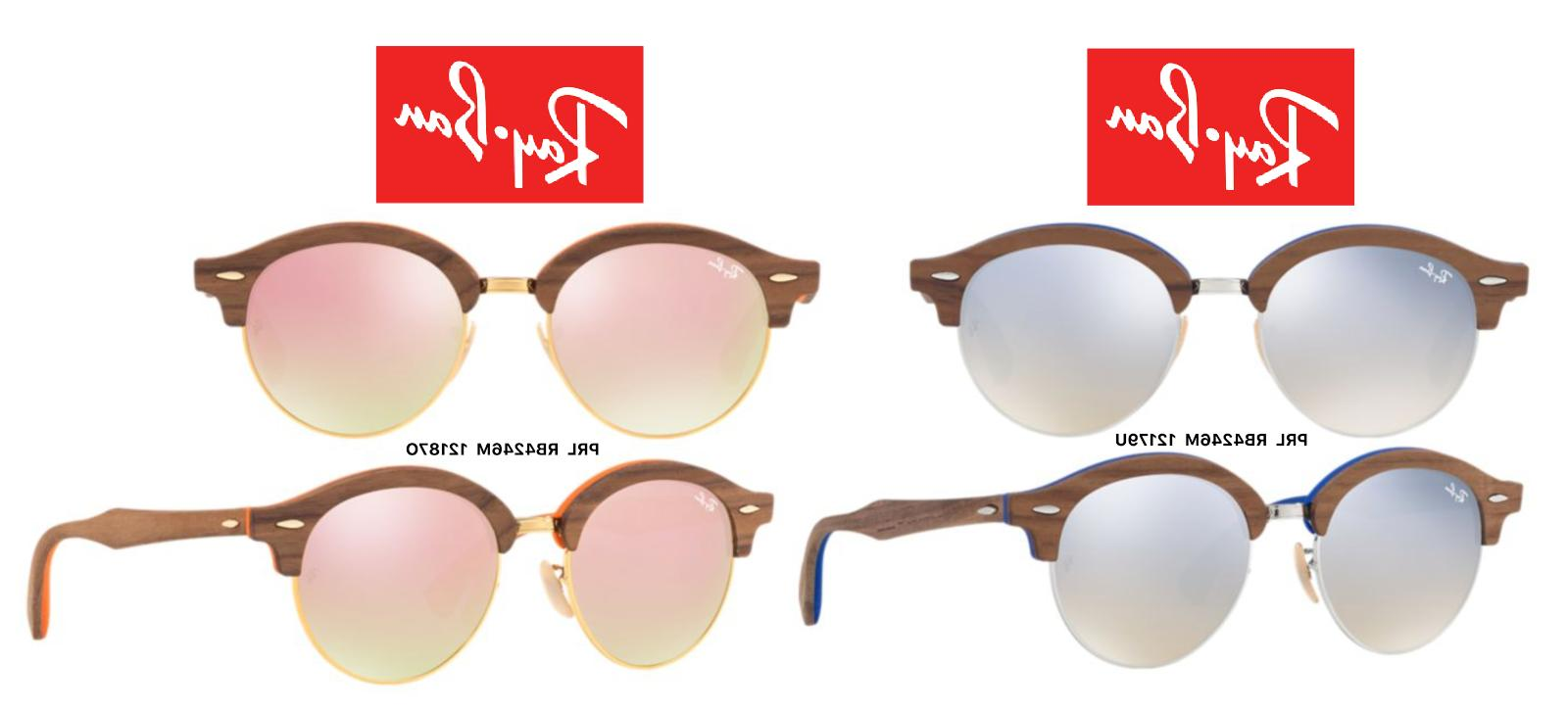 ray ban rb 4246m clubround wood sunglasses