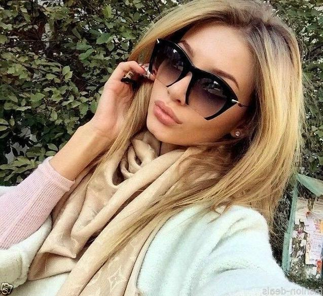"""RAZOR"" Gradient Cut Off Women Sunglasses"