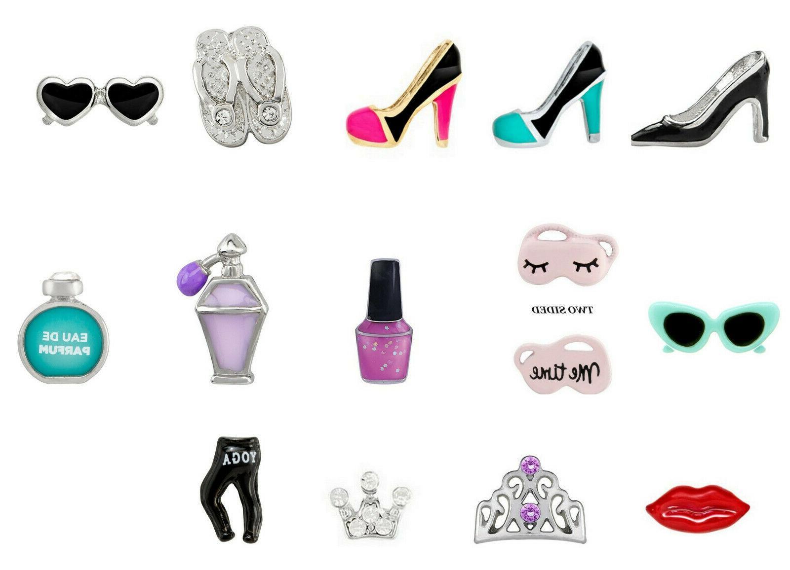 real charm heel sunglasses beach dress lipstick