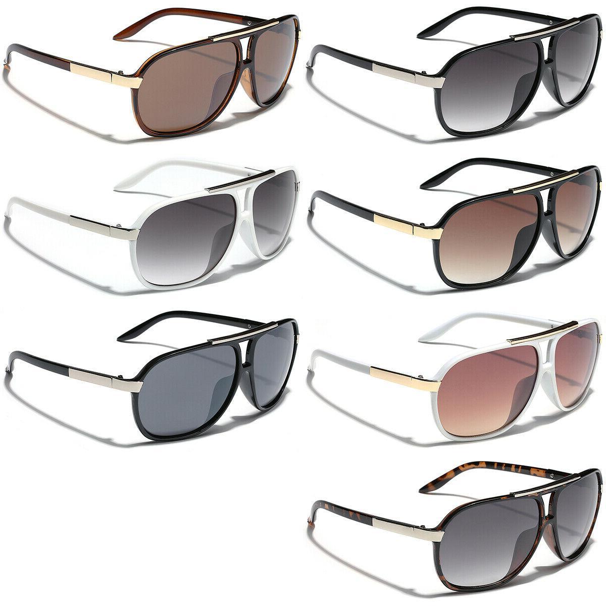 Retro Sunglasses Black Men
