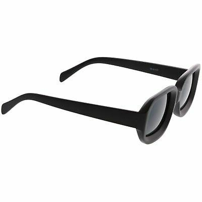 zeroUV - Retro Bold Deep Rectangle Lens Sunglasses