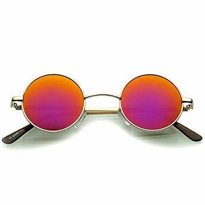 zeroUV Sunglasses for Men with Color Mirrored John Lenn