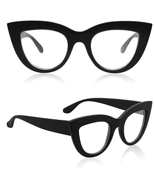 retro vintage cateye sunglasses women plastic frame