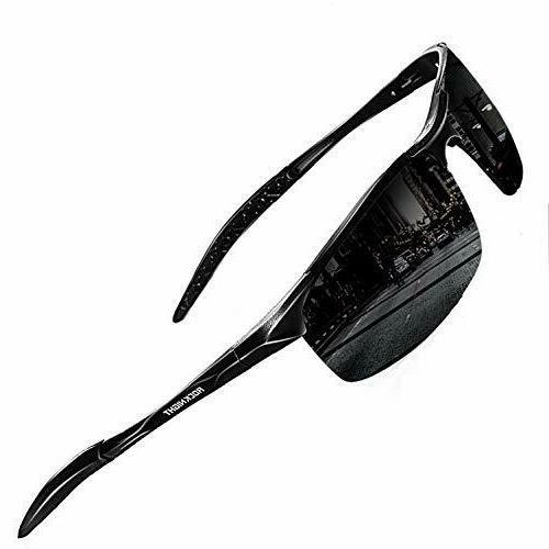 ROCKNIGHT Driving Polarized Sunglasses For Men UV Protection