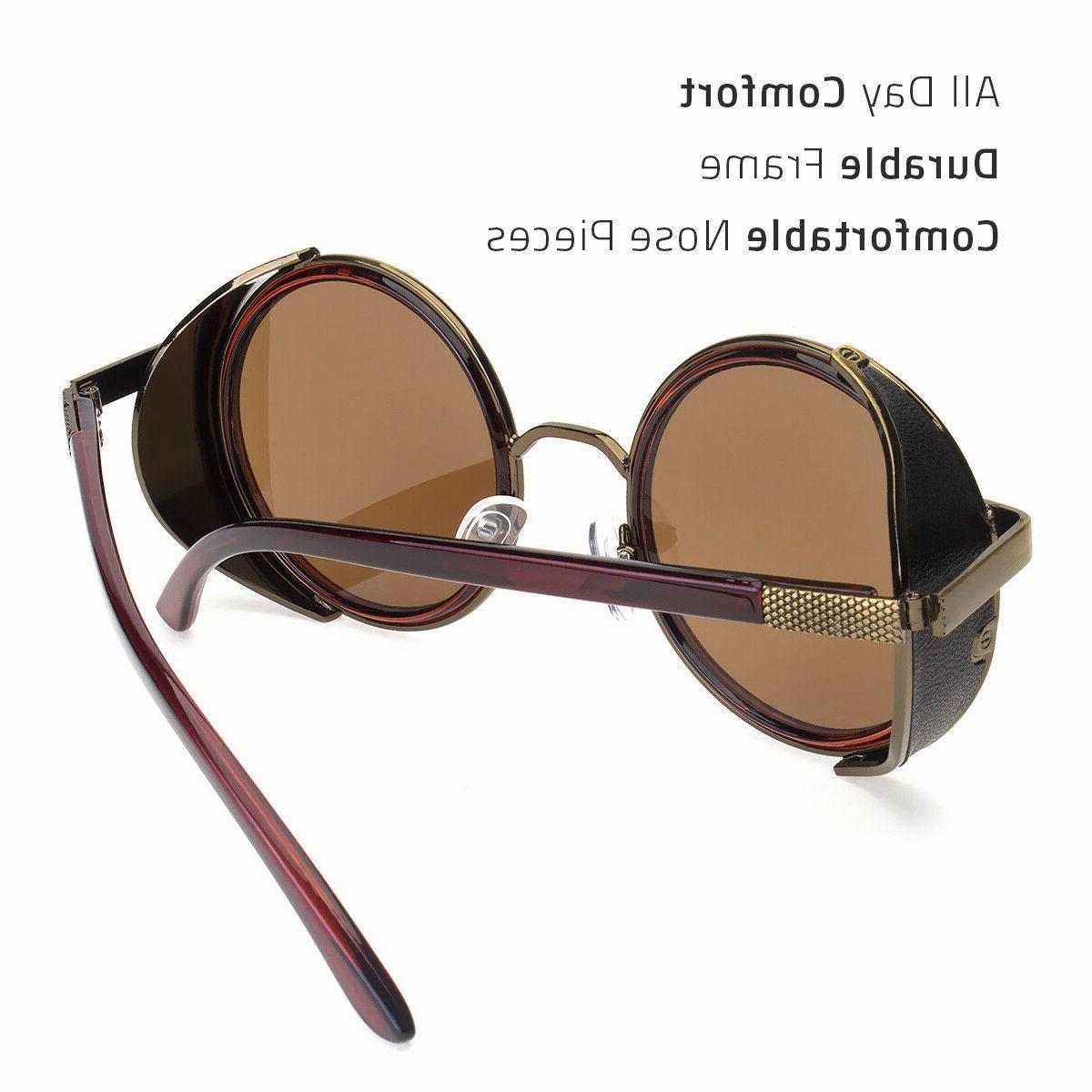 Round Men Fashion Glasses Brand Retro