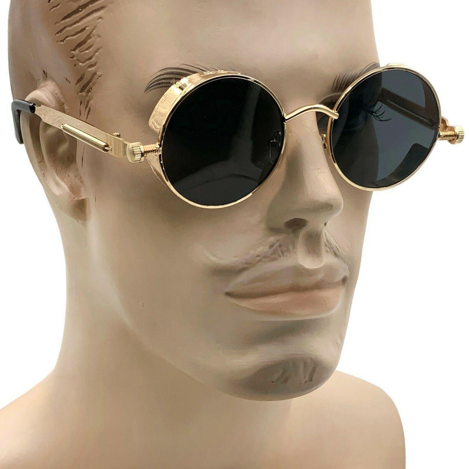 Round Metal Men Women Glasses