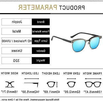 Joopin Sunglasses Retro Brand Sun Glasses