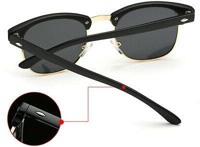 Joopin Rimless Polarized Sunglasses Unisex Retro Brand Sun