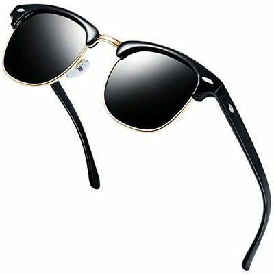 semi rimless polarized sunglasses women