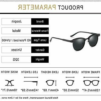 Joopin Sunglasses Women Men, Metal, Size free