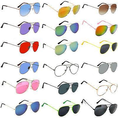 set 18 mix sunglasses wholesale aviator assorted