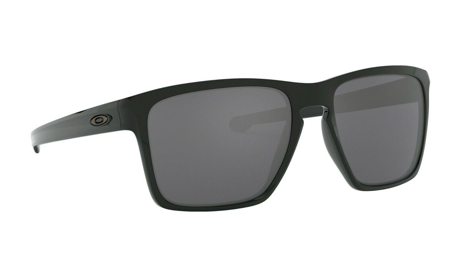 sliver xl sunglasses oo9341 05 polished black