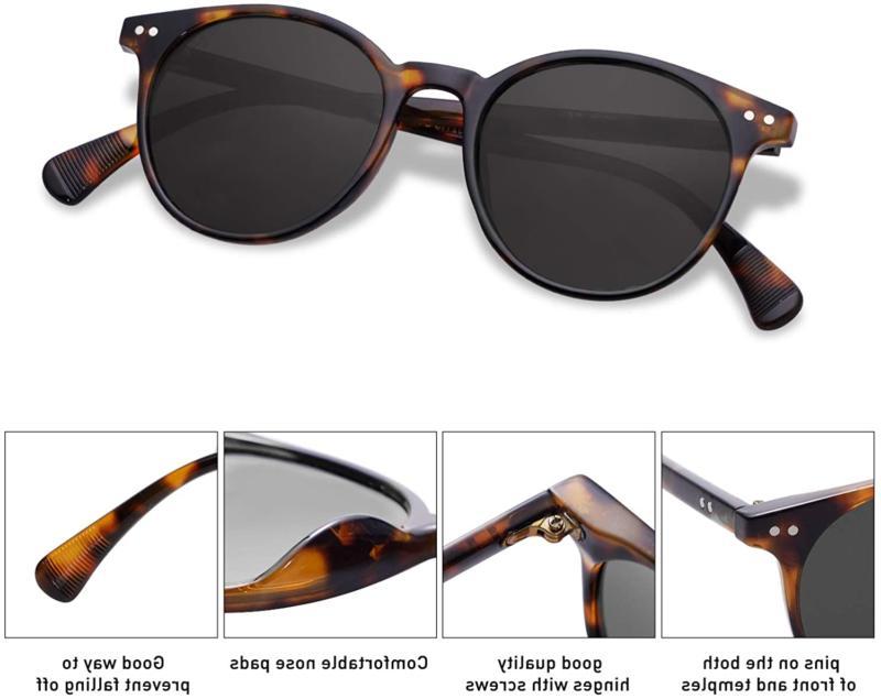 SOJOS Polarized Sunglasses for Women Men Vintage UV400