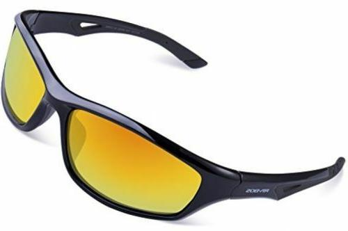 RIVBOS Sports Polarized Sunglasses Driving Glasses for Men W