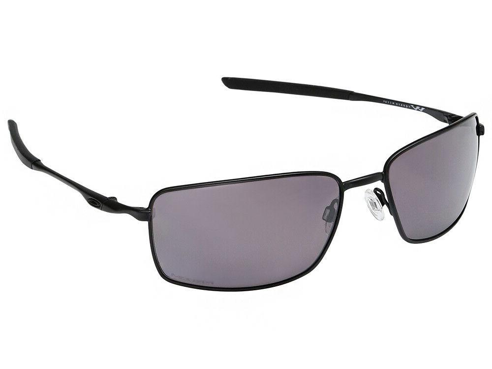 Oakley Square Wire Polarized Sunglasses OO4075-09 Covert Bla