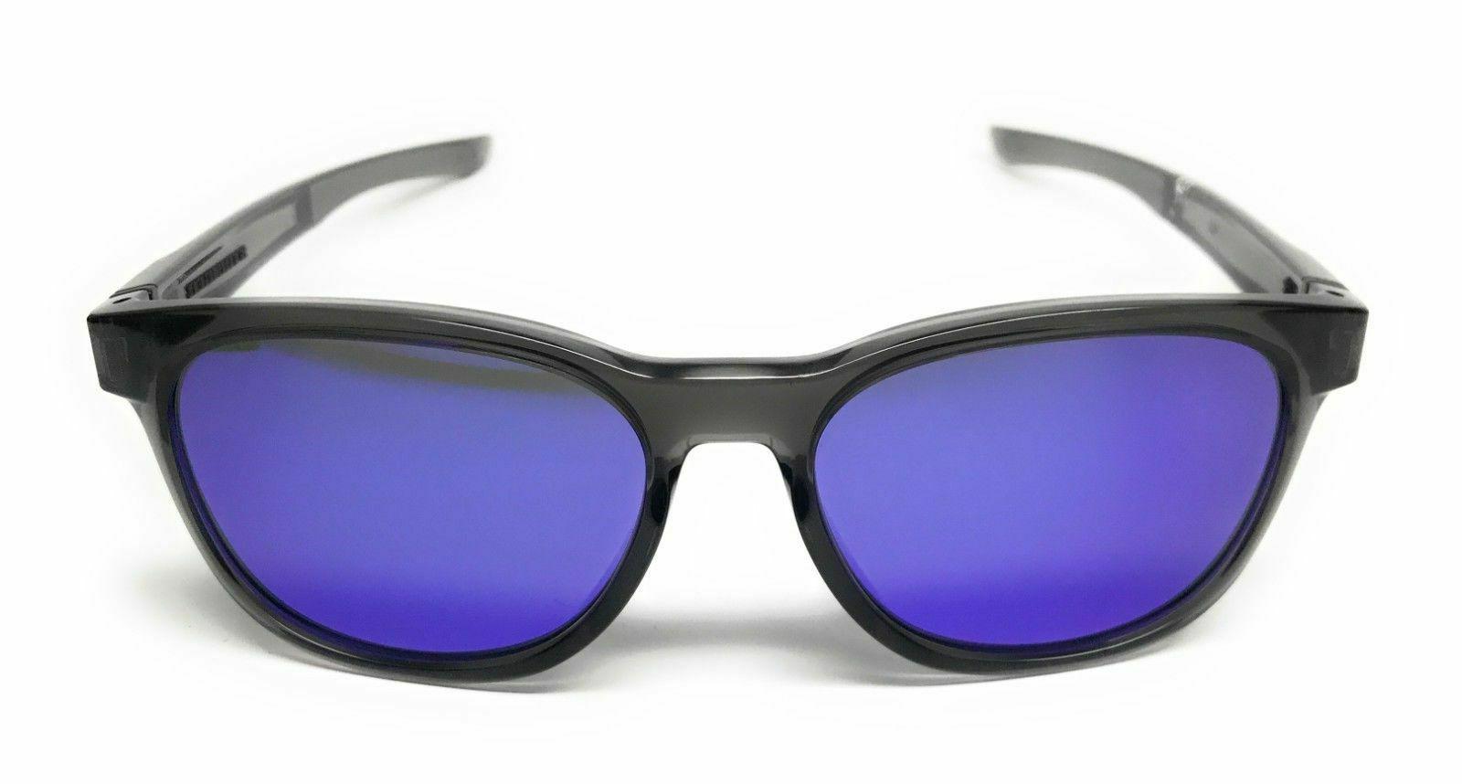 Oakley Sunglasses OO9315-05 Grey Frame Violet Iridium Lens