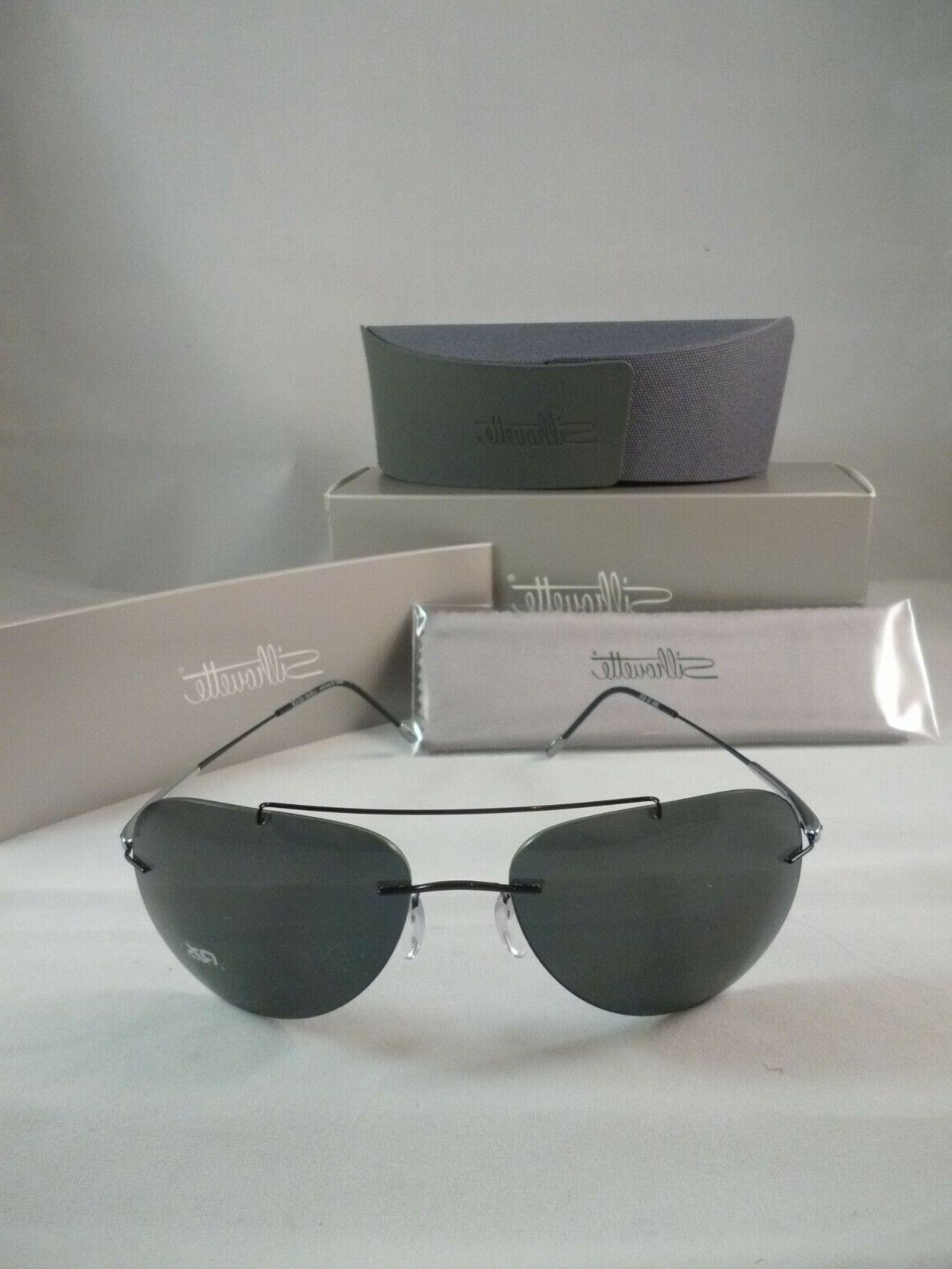 Silhouette Sunglasses 8650/S ADVENTURER Polarized 6200