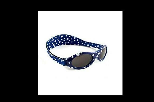 Baby Strap -Blue Polka