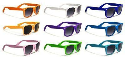 Sunglasses Classic 80's Vintage Style Design Glasses