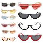 Sunglasses Fashion Women Small Cat Eye Shades Eyeglasses UV4
