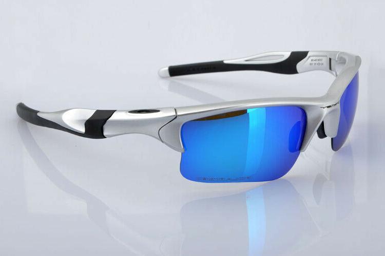 sunglasses half jacket gift silver polarized blue