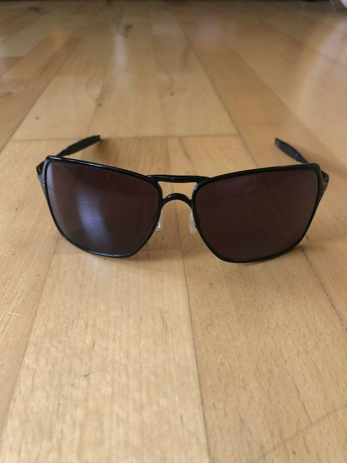 sunglasses inmate black frame iridium black lens