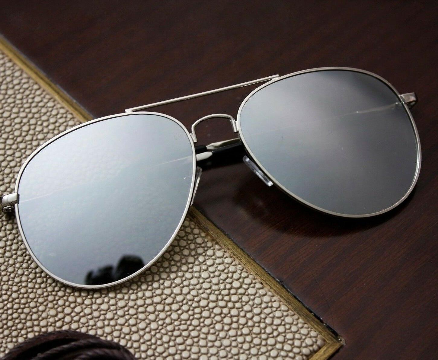 Aviator Sunglasses Mirror Men | Pilot Cop 56mm | Quality Met