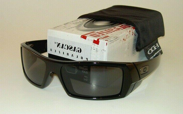 2018New@Sunglasses Polarized-Gascan Matte Black/Grey Iridium