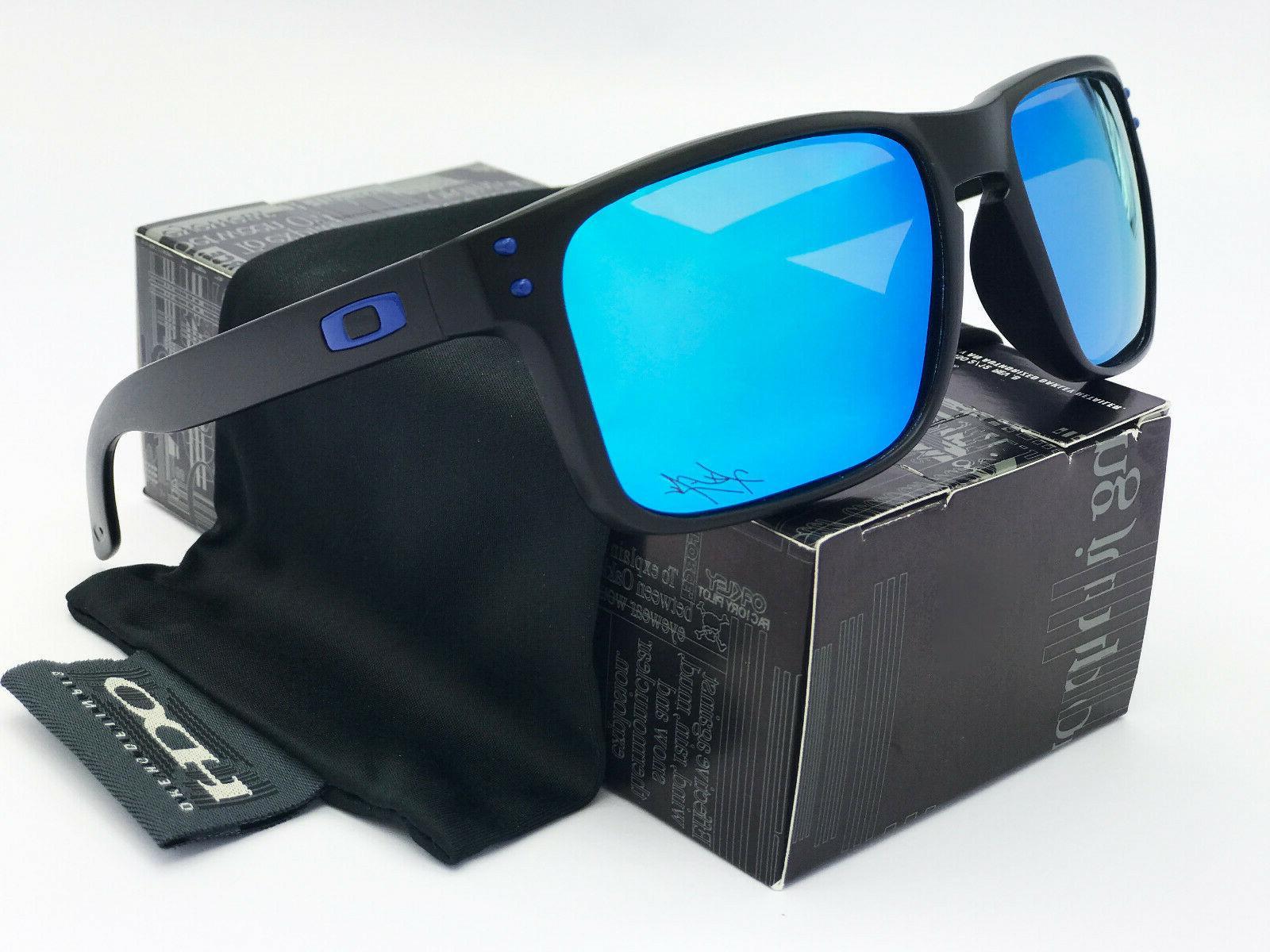 Sunglasses-Polarized  Holbrook11Matte Black/Sapphire Iridium