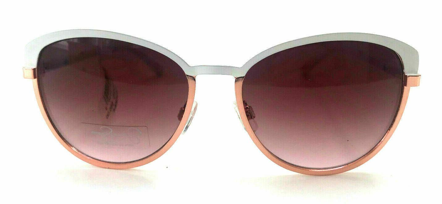 Jessica Simpson Sunglasses WHITE Rose Gold J5316 WHRG Womens