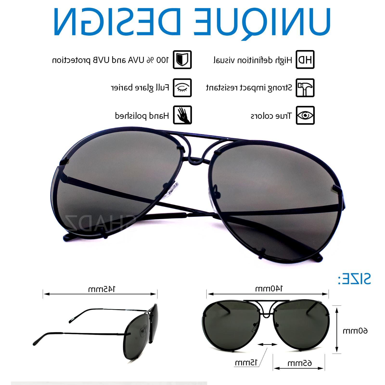 Aviator Twirl Metal Design Sunglasses