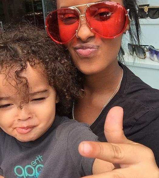 Aviator Super Poshe Twirl Sunglasses RED & PINK