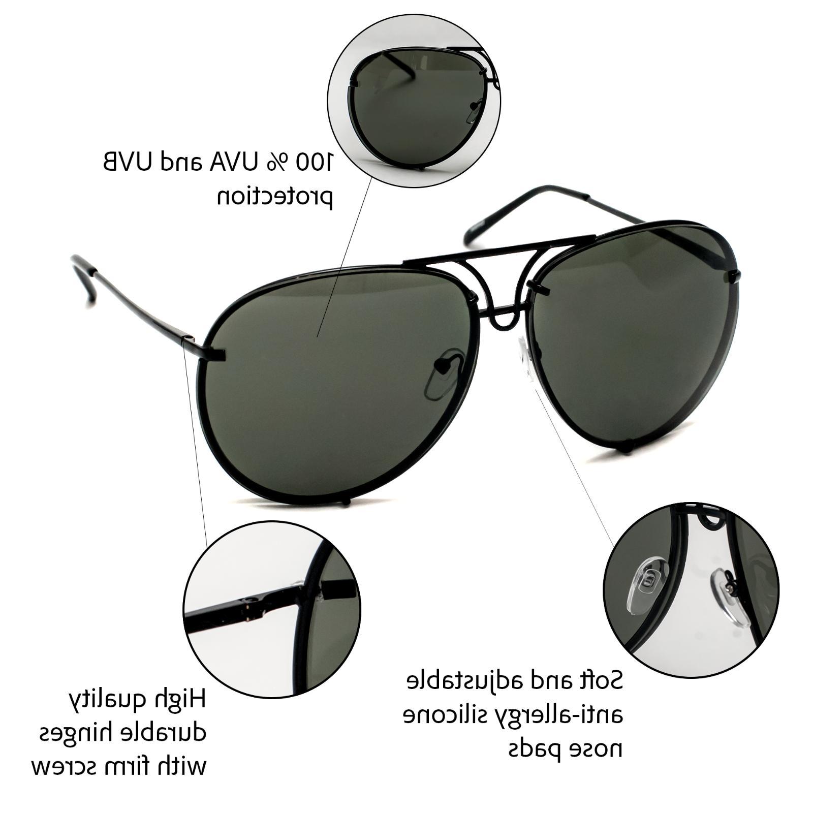 Aviator Super Poshe Gradient Twirl Design Women Sunglasses RED