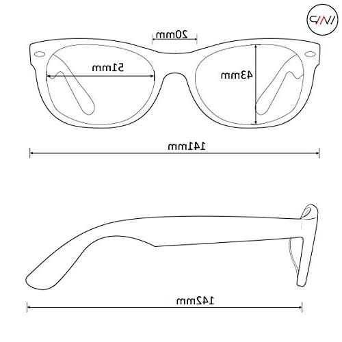 WearMe - Clear Round Hipster Glasses