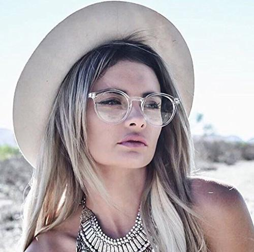 WearMe Pro Clear Frame Hipster Glasses