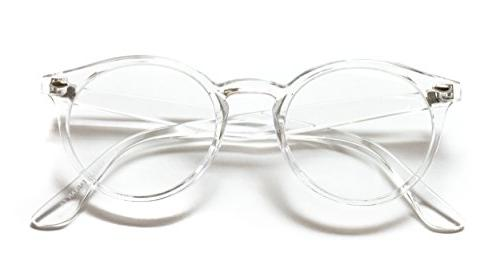 WearMe - Transparent Clear Round Glasses