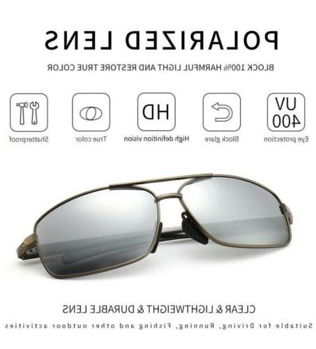 Polarized Sunglasses Silver, FAST