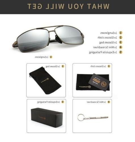 ultra lightweight rectangular polarized sunglasses silver ni