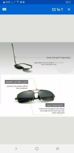 Polarized Sunglasses UV400 Protection NEW