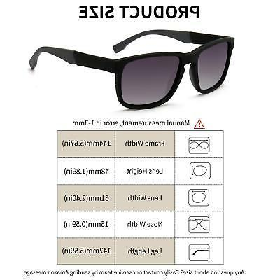 SUNGAIT Polarized Stylish with Spring Hinges